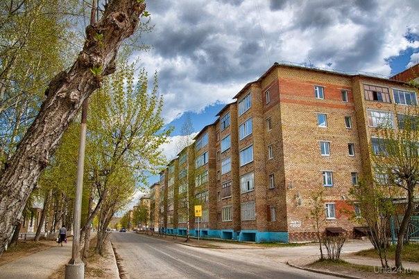 Дзержинского. Весна 2013  Ухта