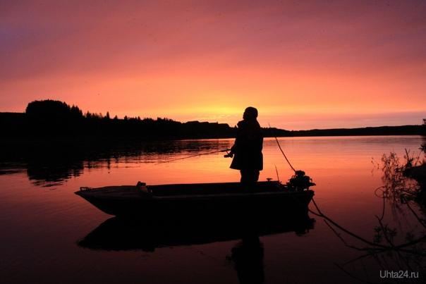 рыбалка в Коми