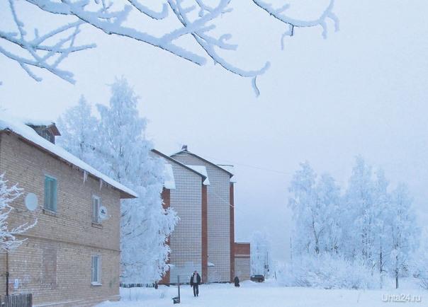 Зима, Дальний  Ухта