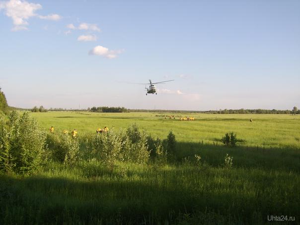 вертолет Ухта