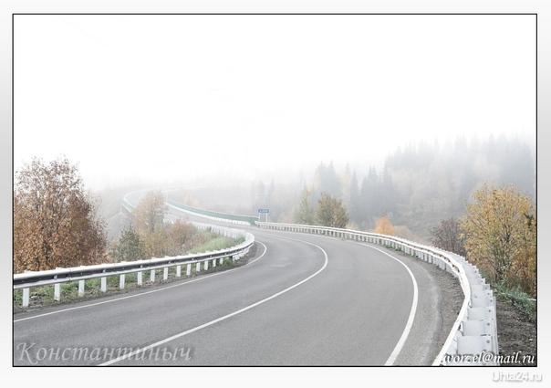 """туман, 2012г. (на последок для жителей """"Ухта24"""") Природа Ухты и Коми Ухта"""