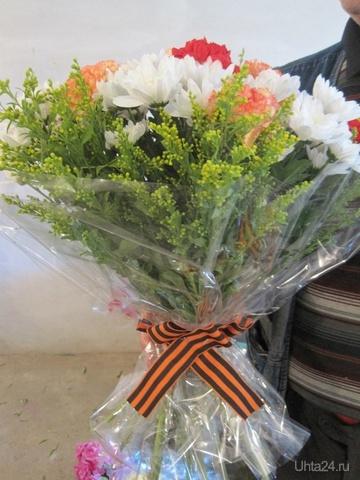 Букет на день победы 4, цветов