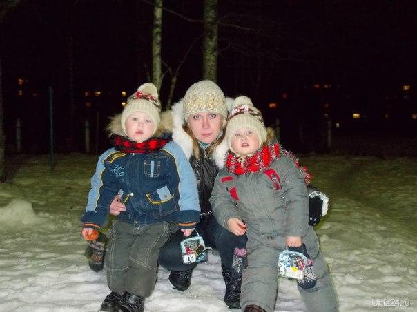 двойняшки,зима  Ухта