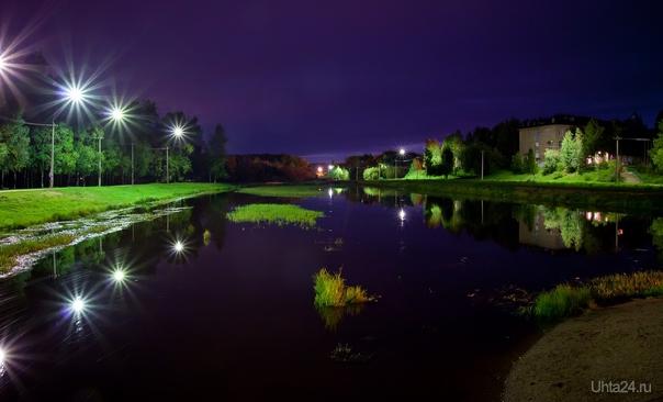 очередное фото с мостика в парке КиО  Ухта