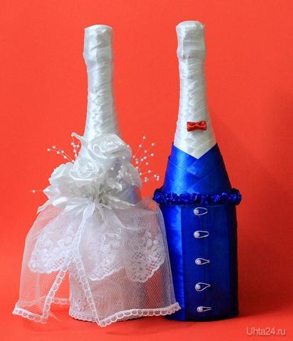Свадебные бутылки,сделаны для подруги) Творчество, хобби Ухта