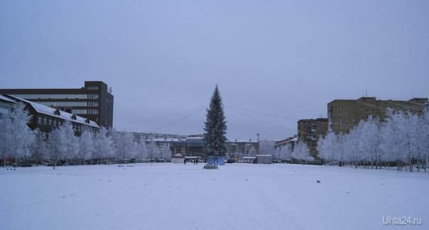 Комсомольская площадь Улицы города Ухта