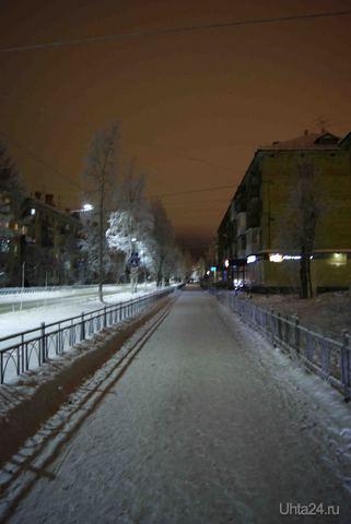 Оплеснина Улицы города Ухта