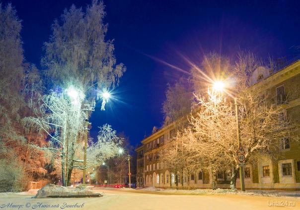 Во власти Снежной королевы! Улицы города Ухта