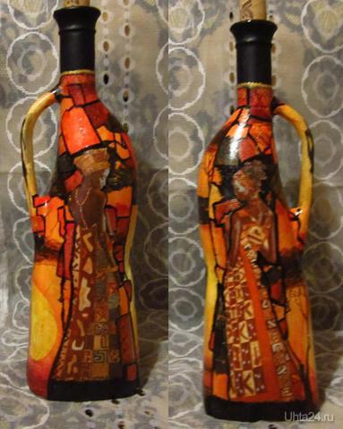 Африканская бутылочка.  Ухта