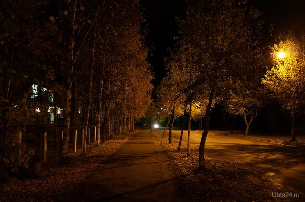 Осень Улицы города Ухта
