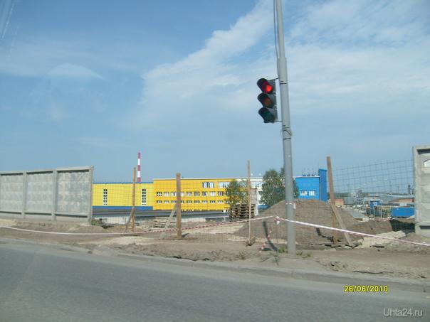 перекресток около ярмарки Улицы города Ухта