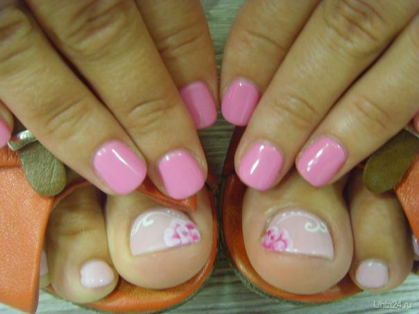Шилак ногтей ноги