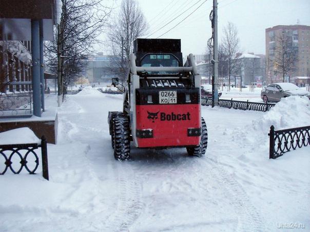 Уборка снега Ухта