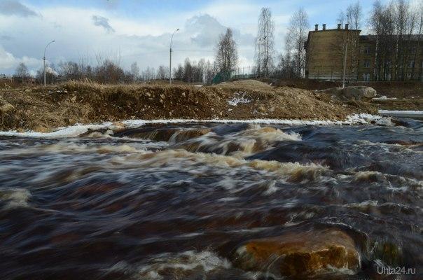Река Чибью Природа Ухты и Коми Ухта