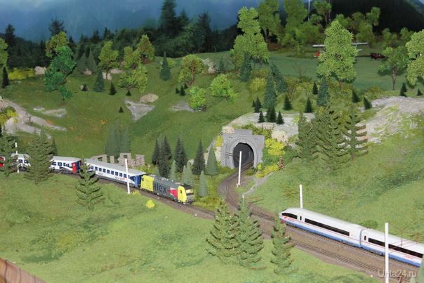 Миниатюрная страна чудес. Действующий макет железной дороги. Краснодар  Ухта