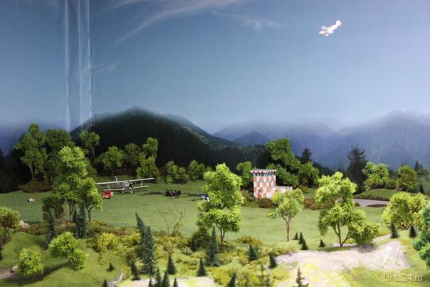 Миниатюрная страна чудес. Действующий макет железной дороги. Краснодар  сельский аэропорт  Ухта