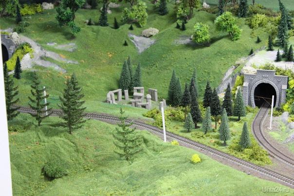 Миниатюрная страна чудес. Действующий макет железной дороги. Краснодар  Стоунхендж!  Ухта