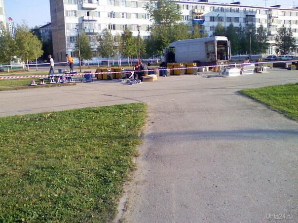 Подготовка к салюту на Комсомольской Мероприятия Ухта