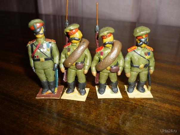 Солдаты  Ухта