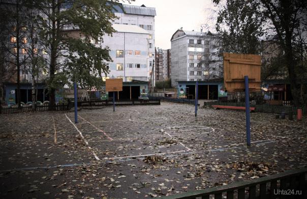 Одна из площадок ДС №28 Улицы города Ухта
