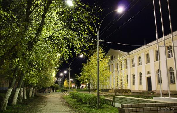 Церковь Улицы города Ухта