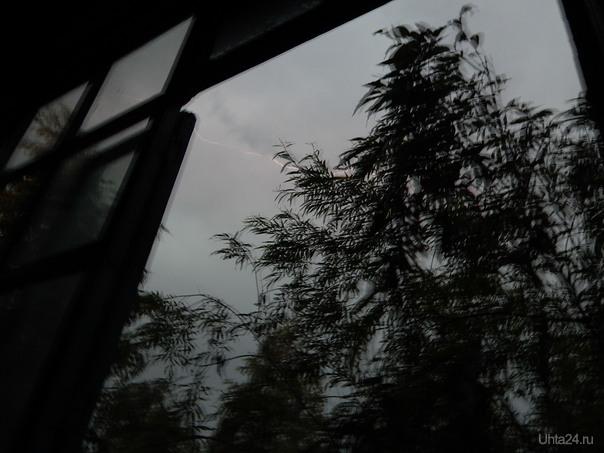 Гроза 3 июня 2014  Ухта