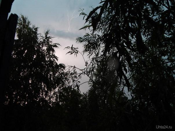 Гроза 3 июля 2014  Ухта