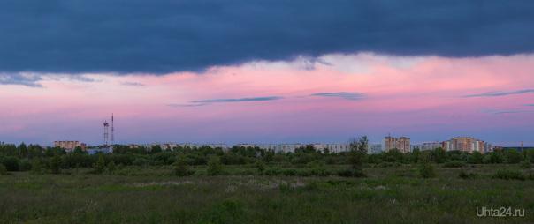 Закатный свет. Природа Ухты и Коми Ухта
