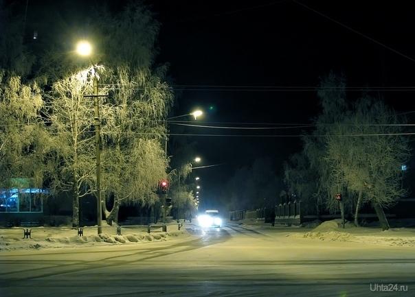 ледниковый период :) Улицы города Ухта