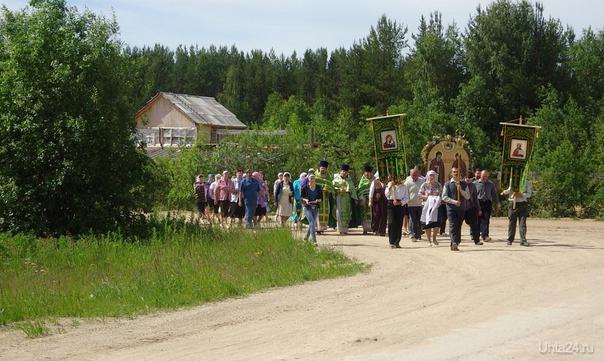 Крестный ход в Боровом 08 июля 2014 г. Мероприятия Ухта