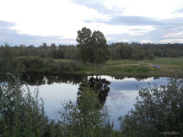 река Ухта.лето Природа Ухты и Коми Ухта