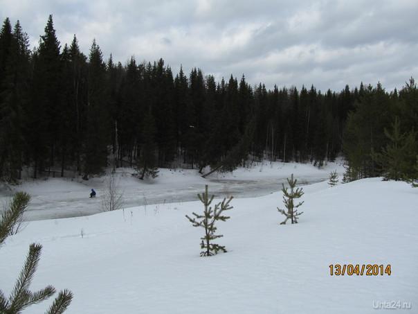 зимняя зима Природа Ухты и Коми Ухта