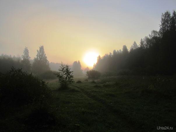утро 3 Природа Ухты и Коми Ухта
