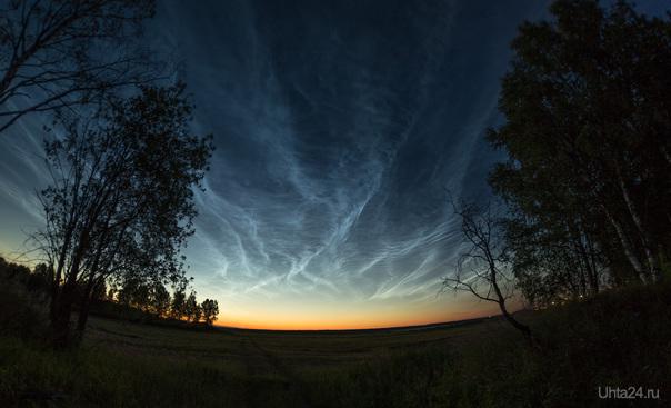 Серебристые Облака. Природа Ухты и Коми Ухта