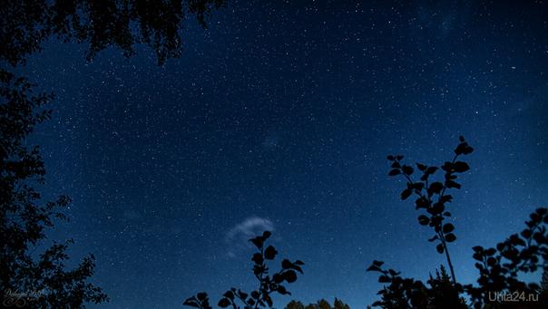 Звёздное небо над рекой Тобысь...  Ухта
