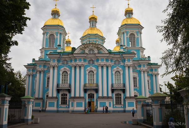 Николо-Богоявленский Морской собор.  Ухта
