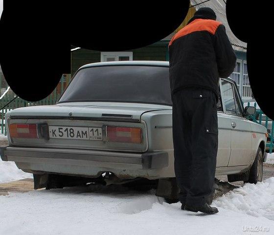 Угнанный автомобиль  Ухта