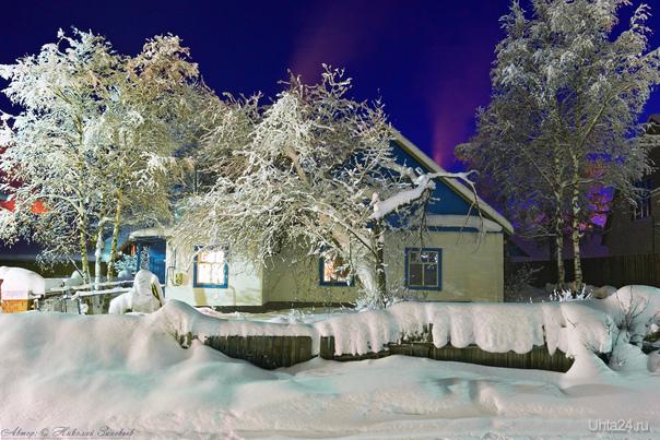 Зима, мороз и запах печки :)  Ухта