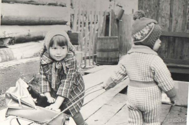 черно-белое детство Ухта
