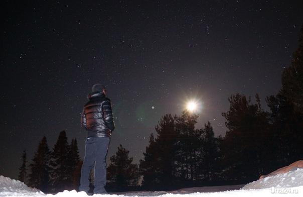 Звездное небо Природа Ухты и Коми Ухта