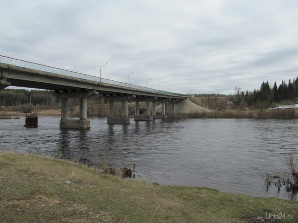 мостик на ярегу Природа Ухты и Коми Ухта