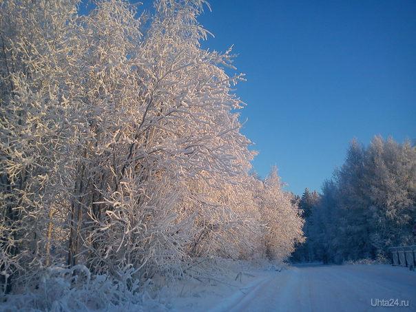 Зимняя сказка  Ухта
