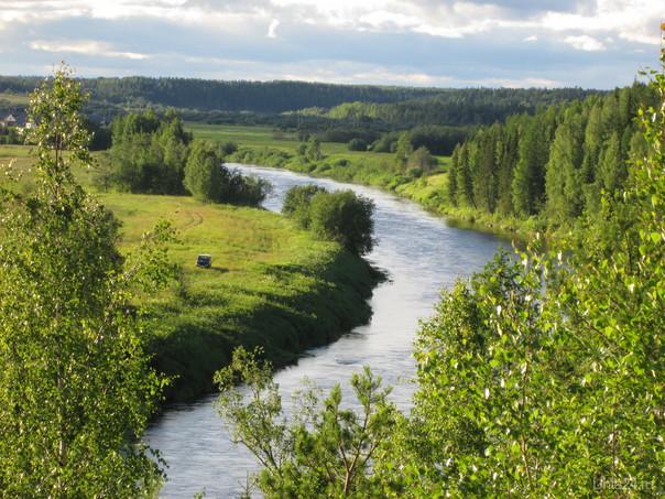 Изгиб реки Природа Ухты и Коми Ухта