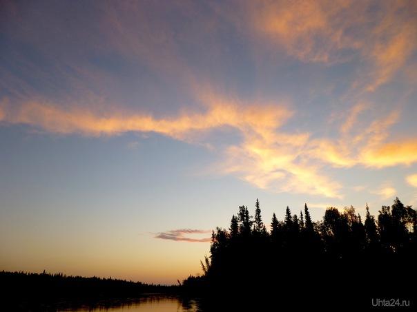 А ночи белые нам дарят красоту земную... Природа Ухты и Коми Ухта
