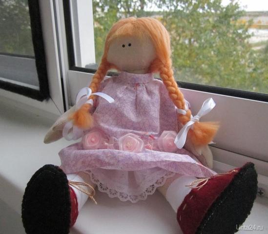 И вот такая куклёшка.  Ухта