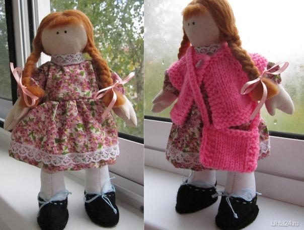 Вторая куклёшка готова.  Ухта