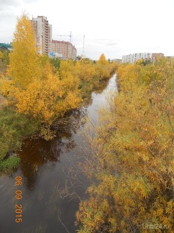 Желтая река, но не Китай Улицы города Ухта