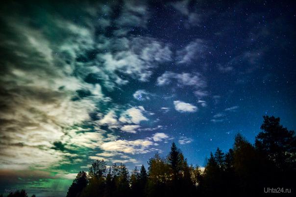 Звёздная ночь  Ухта