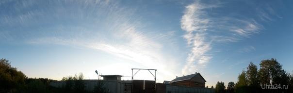 Небесный ураган.... Природа Ухты и Коми Ухта