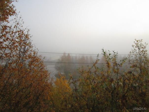Утренний туман.  Ухта
